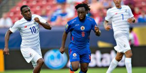 A grande seleção haitiana (Foto: Reprodução/ Mexsport)