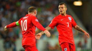 Rooney e Wilshere
