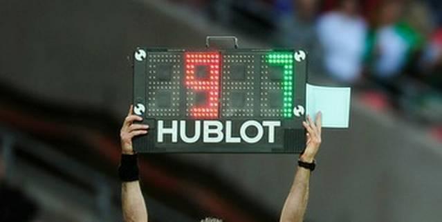 Com pontualidade religiosa, torcedores e técnicos pensam em realizar alterações (Foto: Reprodução/Hublot)