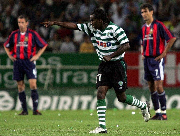 Ídolo em diversos clubes, Tinga não rendeu o esperado no Sporting (Foto: Reprodução/Superesportes-MG)