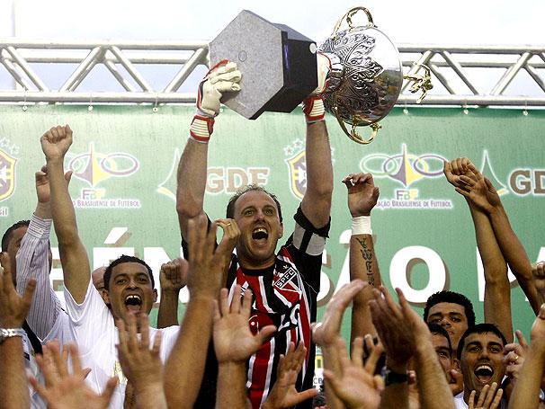 São Paulo faturou três títulos brasileiros consecutivos entre 2006 e 2008 (Foto: Reprodução)