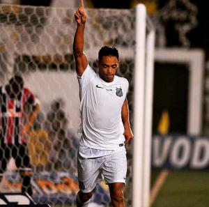 Jogador deixou sua marca contra o São Paulo no Campeonato Paulista (Foto: Reprodução)