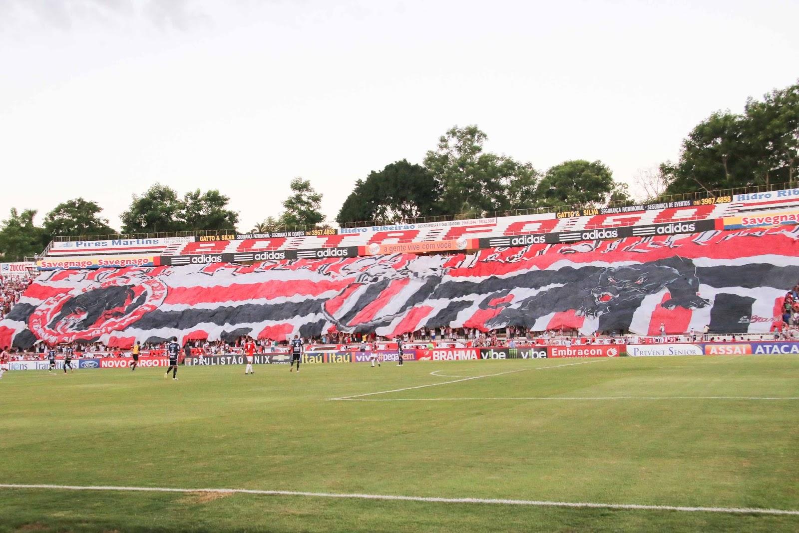 Estádio é a casa do tradicional Botafogo de Ribeirão Preto (Foto: Roger Morott/Agência Botafogo)i