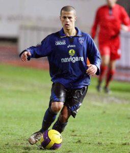 Giovinco, ainda jovem com a camisa do Empoli (Foto: Reprodução)