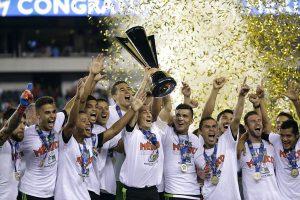 O México levou a Copa Ouro 2015 (Foto: Reprodução/twitter)