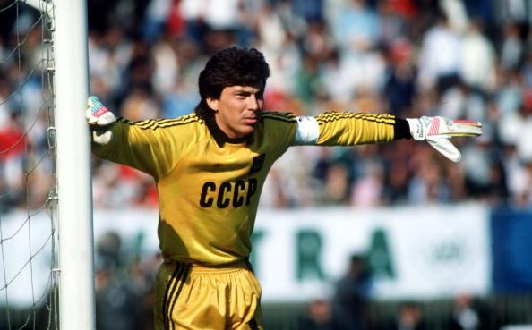 Herdeiro de Yashin, Dasayev foi um dos melhores arqueiros da década de 80 (Foto: Reprodução)