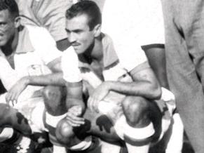 Friaça durante a fatídica Copa de 1950 (Foto: Reprodução)