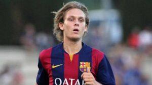 Halilovic é uma das grandes esperanças do Barcelona (Foto: Reprodução/weloba)