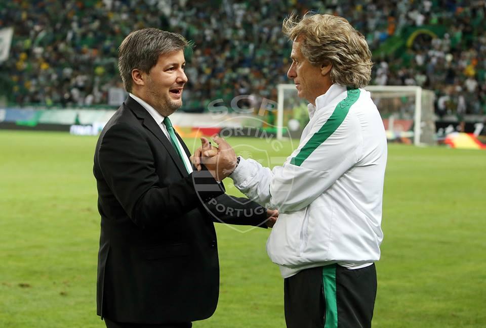 Jorge Jesus conseguirá levar o Sporting à quebra do jejum no Campeonato Português? (Foto: César Santos/Divulgação)