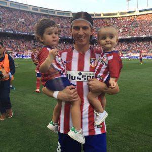 Filipe Luís está de volta aos Colchoneros depois de temporada ruim no Chelsea (Foto: Reprodução)