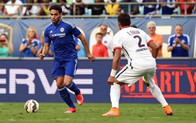 Falcao Garcia tenta se reencontrar jogando pelo Chelsea (Foto: Reprodução)