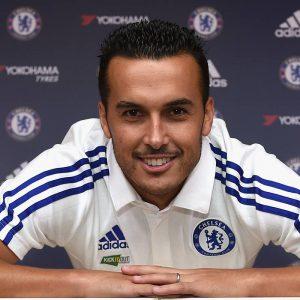 Será que Pedro será um talismã no Chelsea também? (Foto: Reprodução)
