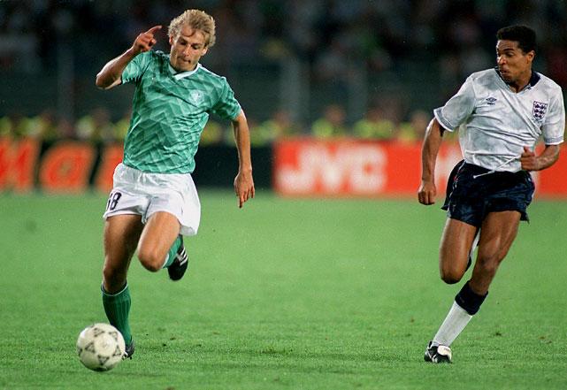 Em Copas, Alemanha usou verde pela última vez em 1990 (Foto : Reprodução)
