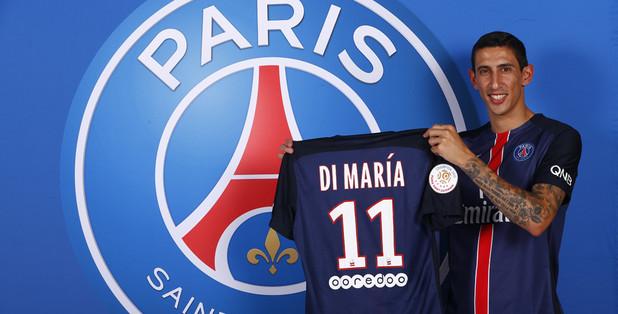 Di Maria era sonho de consumo do PSG (Foto: Reprodução)