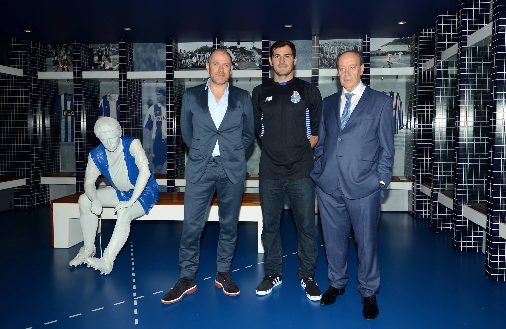 Casillas surpreendeu ao ir para o Porto (Foto: Reprodução)