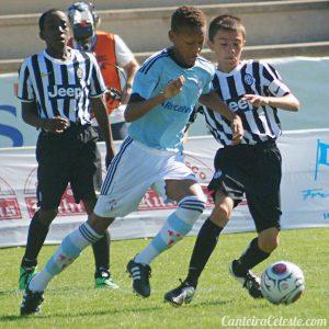 Anwar Mediero era um dos brilhantes destaques do Celta de Vigo (Foto: Reprodução/twitter)