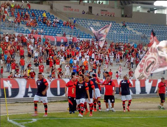 Campinense contará com apoio da torcida para tentar superar o Operário (Foto: Divulgação/Campinense)