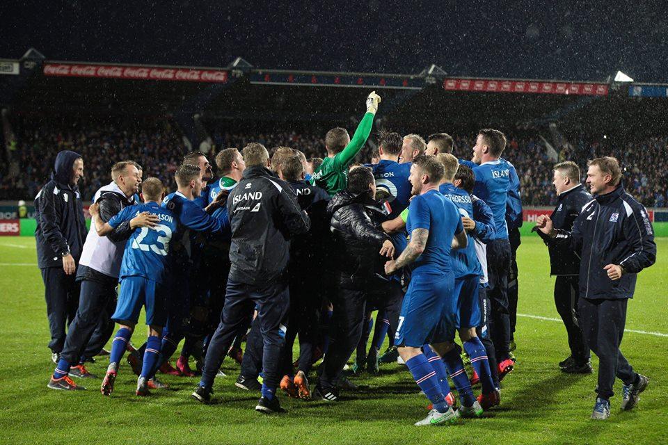 Surpresa das Eliminatórias, Islândia já se classificou para a Euro (Foto: Divulgação/Federação Islandesa)