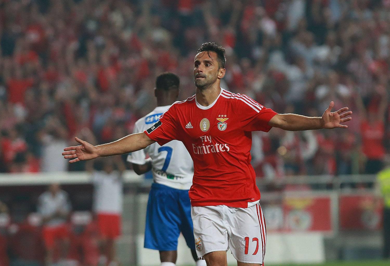 Jonas, artilheiro da atual edição do Campeonato Português (Foto: Reprodução)