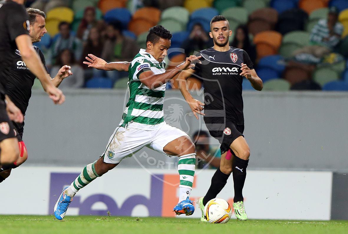 Na última semana, após boa apresentação, Matheus entrou pra seleção da rodada da Liga Europa (Foto: Reprodução)