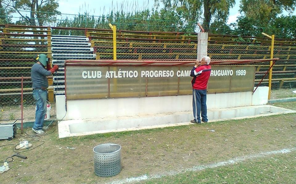 Reforma no Estádio do Progreso