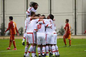 A fantástica vitória sobre os turcos do Galatasaray (Foto: Divulgação/benfica.com)