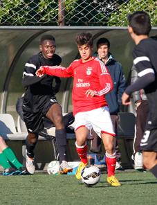 A técnica também é vista no Benfica (Foto: Divulgação/slbenfica.pt)