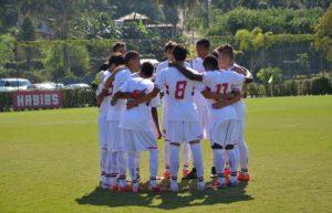 São Paulo tem grande equipe no sub-15 (Foto: Divulgação/saopaulofc.net)
