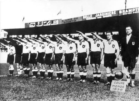 Ao lado do Japão, Alemanha foi suspensa pela Fifa após Segunda Guerra Mundial (Foto: Reprodução)