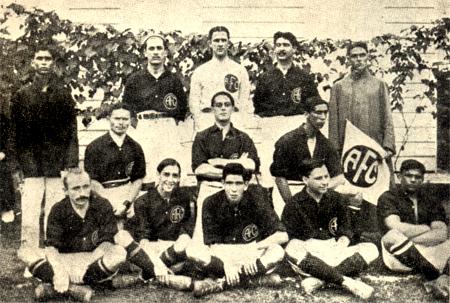 O time do América campeão em 1913 (Foto: Reprodução)