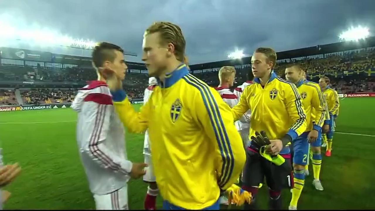 Dinamarca e Suécia costumam fazer duelos equilibrados (Foto: Reprodução)