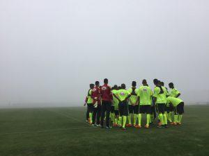 A equipe treinou muito na Granja Comary (Foto: Reprodução/cbf.com.br