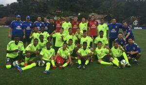 A seleção conta com jogadores conhecidos (Foto: Divulgação/cbf.com.br)