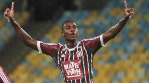 Gérson pelo Fluminense (Foto: Divulgação/fluminense.com.br)