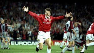 Teddy Sheringham: um gol e uma assistência (Foto: Reprodução)