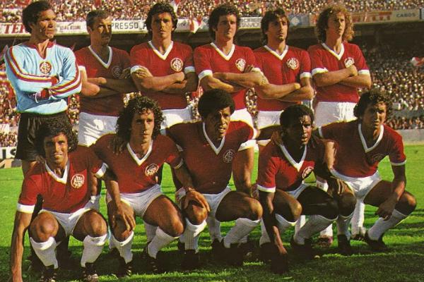 Clássico time do Inter de 75 quebrou hegemonia do Sudeste (Foto: Reprodução)