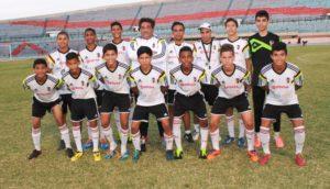 A seleção sub-15 venezuelana (Foto: Reprodução/hoyvenezuelaa.info)
