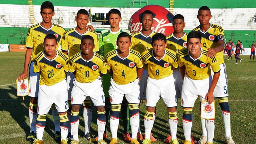Colômbia durante a preparação para o Sul-Americano (Foto: Divulgação/Federação Colombiana)