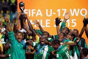 A Nigériaconquistou o quinto título do Mundial (Foto: Reprodução/correiodoestado.com.br)