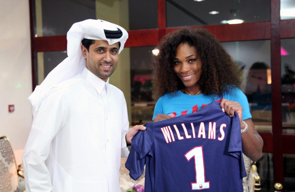 Tênis é uma das paixões de Nasser Al-Khelaifi (Foto: Divulgação)