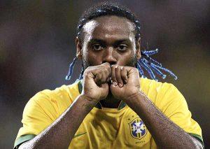 Também semeou seu amor na seleção brasileira (Foto: Reprodução)