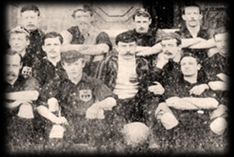 O time do Sheffield que venceu a primeira partida da história (Foto: Divulgação/Sheffield F.C.)