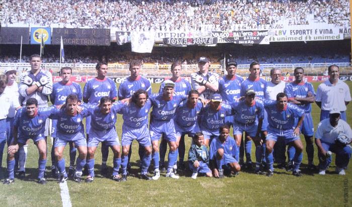 Esquadrão do São Caetano vice-campeão brasileiro (Foto: Reprodução)