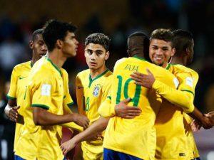 Brasil teve bons momentos nas categorias de base (Foto: Reprodução/cbf.com.br)