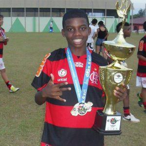 Lincoln Corrêa é vencedor no Flamengo (Foto: Reprodução/Facebook)