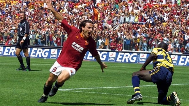 Montella vibra com gol marcado sobre o Parma (Foto: Reprodução)