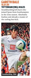 Bale, um dos destaques de Gales (Foto: Reprodução/soccernostalgia.com)