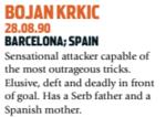 Uma pequena descrição de Bojan, o novo Messi (Foto: Reprodução/soccernostalgia.com)