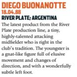 Diego Buonanotte resolvia no River Plate (Foto: Reprodução/soccernostalgia.com)