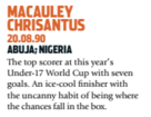 Chrisantus era a aposta da Nigéria (Foto: Reprodução/soccernostalgia.com)